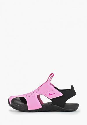 Сандалии Nike Boys Sunray Protect 2 (PS) Preschool Sandal. Цвет: розовый
