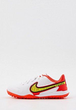 Шиповки Nike JR LEGEND 9 ACADEMY TF. Цвет: белый