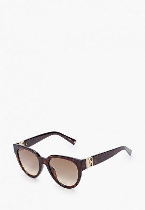 Очки солнцезащитные Givenchy GV 7155/G/S 086. Цвет: коричневый