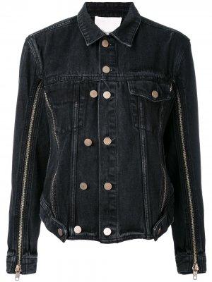 Джинсовая куртка 3.1 Phillip Lim. Цвет: черный