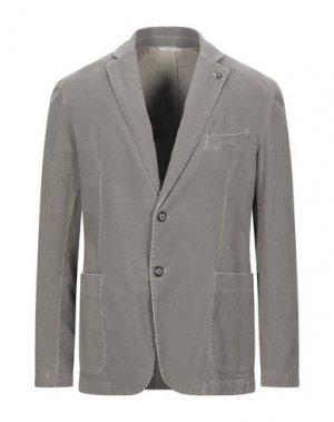 Пиджак EXIGO. Цвет: бежевый