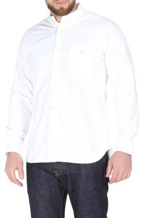 Рубашка GARBSTORE. Цвет: белый