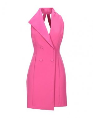 Короткое платье ANNARITA N. Цвет: фуксия