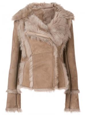 Куртка с большим воротником S.W.O.R.D 6.6.44. Цвет: бежевый