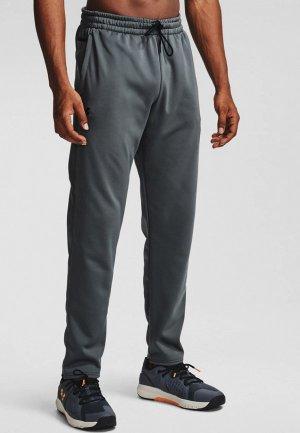 Брюки спортивные Under Armour UA Fleece Pants. Цвет: серый