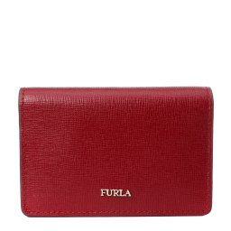 Визитница BABYLON S BUSINESS CARD CASE бордовый FURLA