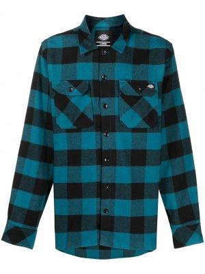 Клетчатая рубашка Sacramento DICKIES. Цвет: синий