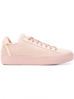 Кроссовки с логотипом Fabi. Цвет: розовый