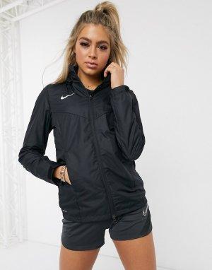 Черная куртка-дождевик Nike Football-Черный Training