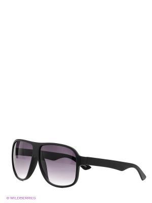Солнцезащитные очки SELECTED. Цвет: черный
