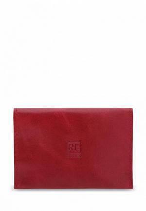 Обложка для паспорта Reconds Runway. Цвет: красный