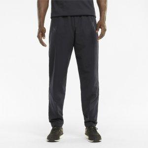 Штаны Porsche Design MCS Woven Mens Pants PUMA. Цвет: черный
