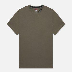 Мужская футболка Zumu The North Face. Цвет: зелёный