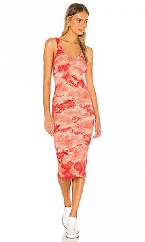 Платье Enza Costa. Цвет: красный