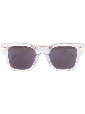 Солнцезащитные очки Julius Karen Walker. Цвет: синий