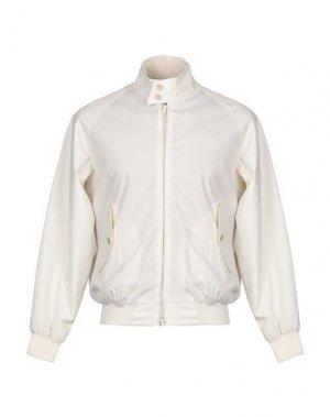 Куртка BARACUTA. Цвет: слоновая кость
