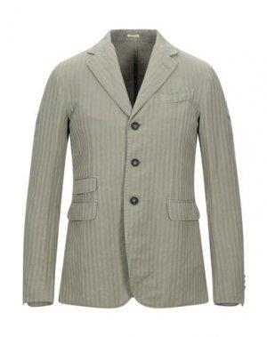 Пиджак MASSIMO ALBA. Цвет: зеленый-милитари
