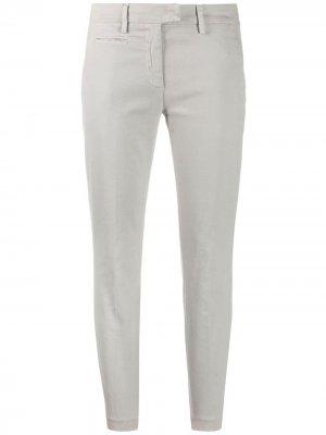 Укороченные брюки чинос Dondup. Цвет: нейтральные цвета