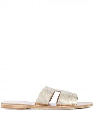 Сандалии Apteros Ancient Greek Sandals. Цвет: желтый