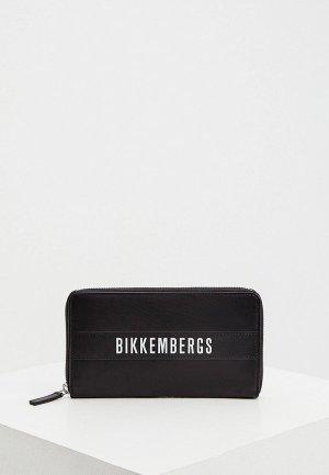 Кошелек Bikkembergs. Цвет: черный