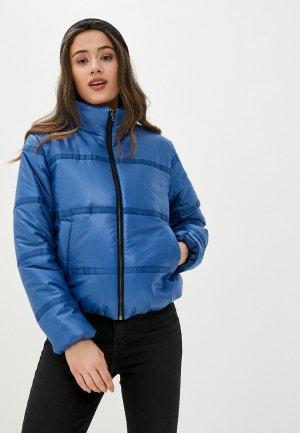 Куртка утепленная Vivaldi. Цвет: синий