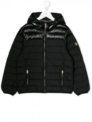 Куртка на молнии с капюшоном Ciesse Piumini Junior. Цвет: черный