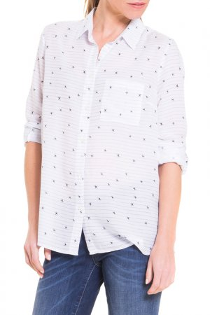 Рубашка BIG STAR. Цвет: белый