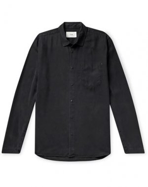 Pубашка FOLK. Цвет: черный