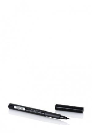 Подводка для глаз Isadora Fine Liner Eye Stylo 01, 1,1 мл. Цвет: черный