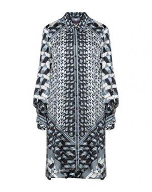 Короткое платье HALE BOB. Цвет: пастельно-синий