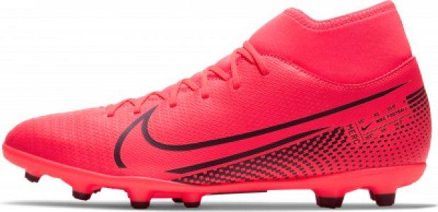 Бутсы мужские Superfly 7 Club FG/MG, размер 41.5 Nike. Цвет: красный