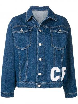 Джинсовая куртка с нашивками Chiara Ferragni