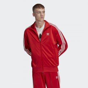 Олимпийка Firebird Originals adidas. Цвет: красный