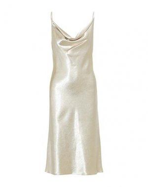 Платье длиной 3/4 BLACK HALO EVE by LAUREL BERMAN. Цвет: слоновая кость