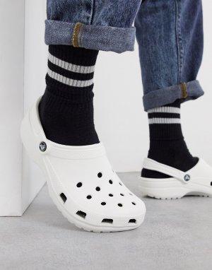 Белая классическая обувь -Белый Crocs