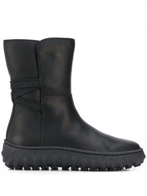 Ботинки без застежки Camper. Цвет: черный