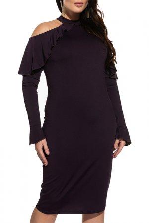 Платье La Via Estelar. Цвет: чернильный