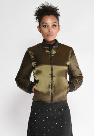 Куртка утепленная Lobanova. Цвет: хаки