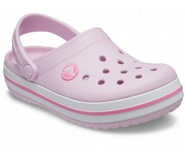 Сабо детские CROCS Crocband™ clog (Kids) Ballerina Pink арт. 204537. Цвет: ballerina pink