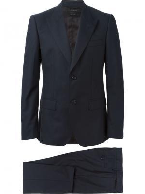 Классический костюм-двойка Marc Jacobs. Цвет: синий