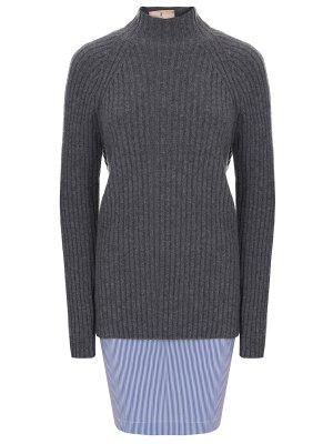 Комбинированный свитер ERIKA CAVALLINI