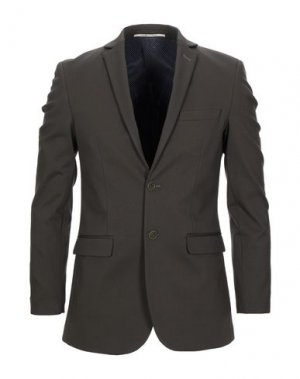 Пиджак EXIBIT. Цвет: зеленый-милитари