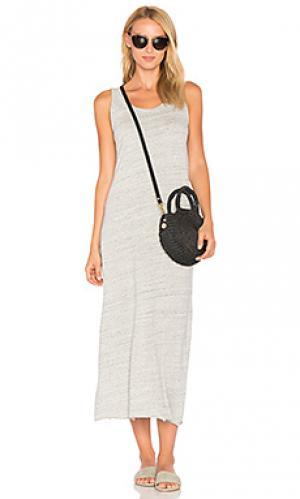 Платье-майка otokay American Vintage. Цвет: серый
