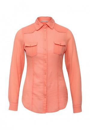 Блуза Kookai. Цвет: коралловый