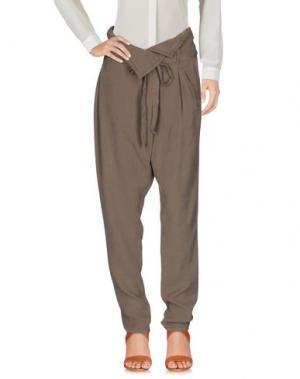 Повседневные брюки ALBA CONDE. Цвет: хаки