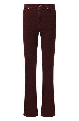 Расклешенные джинсы Citizens Of Humanity. Цвет: красный