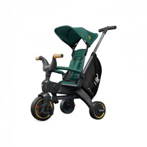 Складной трехколесный велосипед Doona Liki Trike S5 Simple Parenting. Цвет: зелёный
