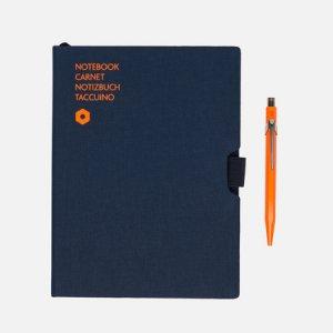 Записная книжка Caran dAche Office A5 Line 192 pgs d'Ache. Цвет: синий