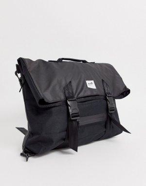Черная сумка через плечо -Черный Boxfresh