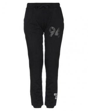 Повседневные брюки MELTIN POT. Цвет: черный